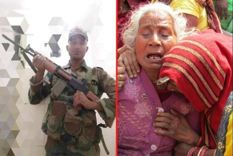 पाकिस्तान की गोलीबारी में शहीद हुआ महाराजगंज का लाल, पिता बोले- 'बेटे पर गर्व है'