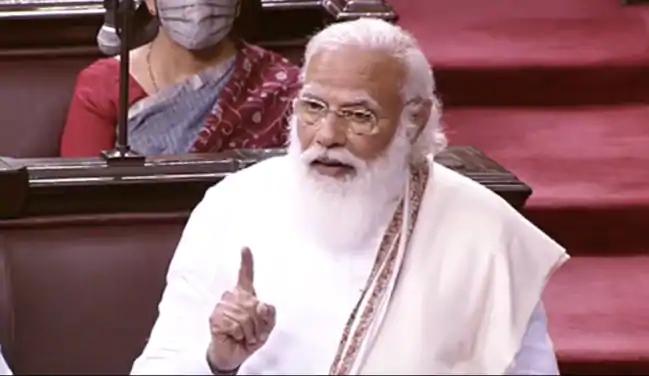 संसद में किसान आंदोलन पर बोले PM मोदी- प्रदर्शन खत्म कीजिए, सब मिल-बैठकर बात करेंगे