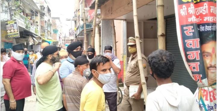 व्यापारी की लाश गोदाम में मिलने से सनसनी, जांच में जुटी पुलिस